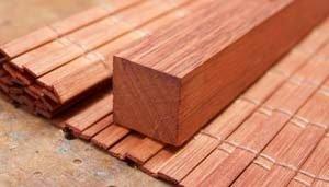 Bamboo Blind Header Timber