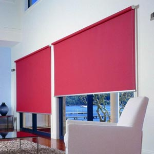 Bright Pink Roller Blinds