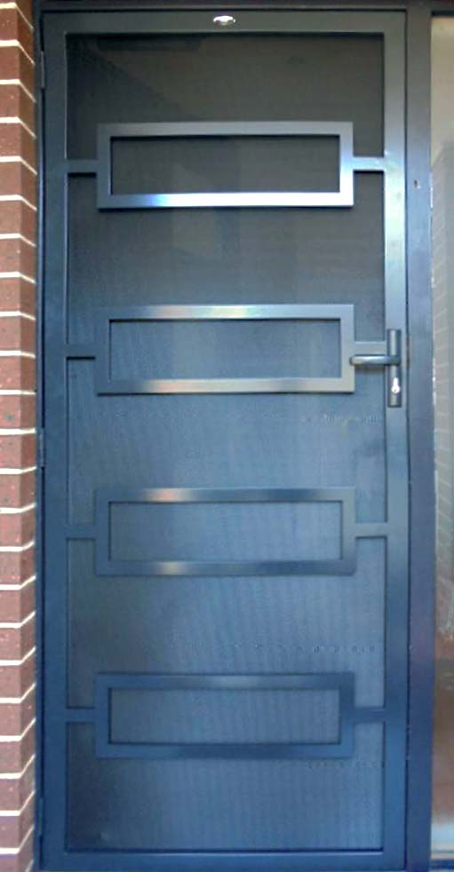 An example of Melbourne security doors - 'Beacon Cove'