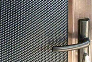 Photo of Vision Gard security mesh detail