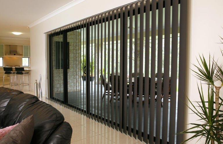 Custom made Vertical blinds for sliding glass doors