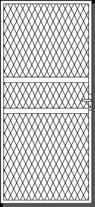 Benallal Custom Steel Security Door Design