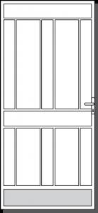 Colac Design Custom Steel Security Door