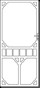 Daylesford 2 Custom Steel Security Door