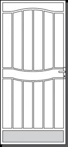 Echuca Design Custom Steel Security Door