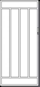 Healsville Steel Security Door Design