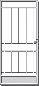 Inverloch Steel Custom Security Door Design