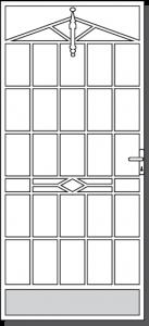 Lorne Steel Custom Security Door Design