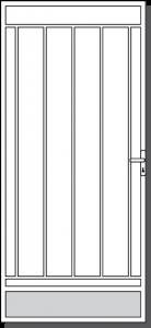 Macedon Steel Custom Security Door Design