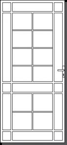 Portland Steel Custom Security Door Design