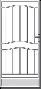 Portsea Steel Custom Security Door Design