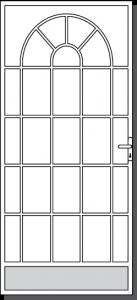 Sunbury Design Custom Steel Security Door