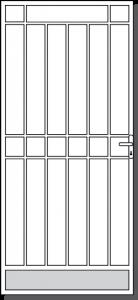 Swan Hill Steel Custom Security Door Design
