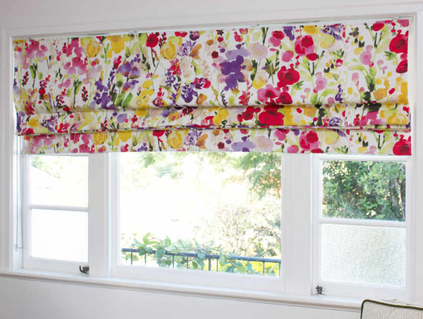Custom Made Roman Blind