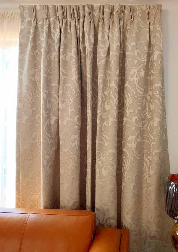 Custom lounge curtains