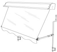 Auto Awning drawing