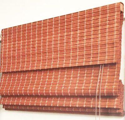 Woven Bamboo roman Blind